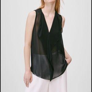 Aritzia BABATON Ainsley Silk Blouse